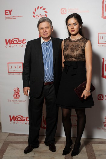 Виктор Бондаренко с супругой / Viktor Bondarenko with his wife