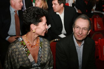 Жан Юбер Мартен с супругой / Jean-Hubert Martin with spouse