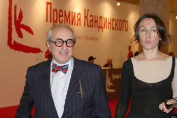 Александр Добровинский с супругой / Alexander Dobrovinsky with spouse