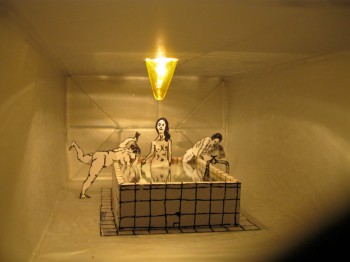 Соки!Света!. 2011. Смешанная техника. 24х11,5х7 /  Juices! Light!. 2011. Mixed media. 24х11,5х7