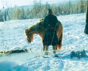 Испытание Гоби. Зима. 2004. Видео. Courtesy XL галерея; Gobi Test. Winter. 2004. Video. Courtesy of the XL Gallery